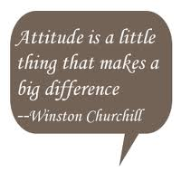 Winston Churchill on Attitude