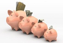 Shrinking Piggy Banks